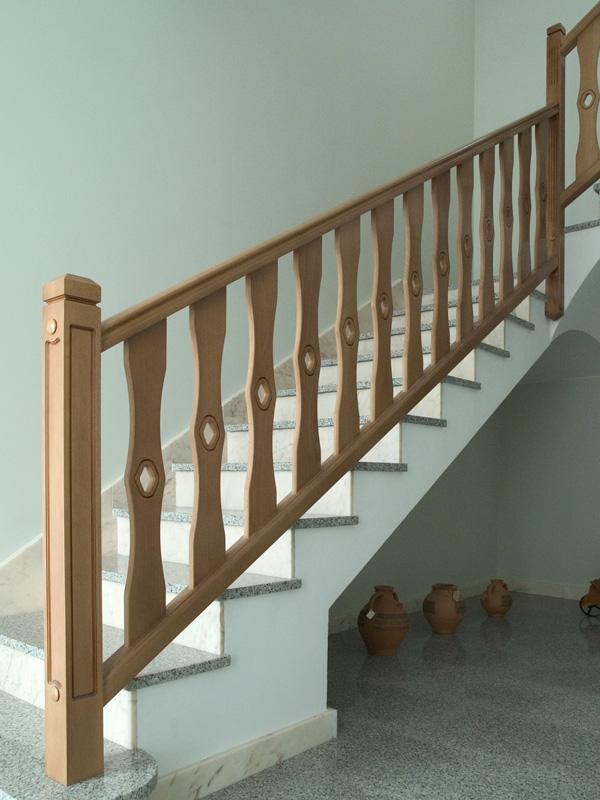 Reformas barandillas reformar barandilla hierro aluminio - Barandillas de madera para interior ...